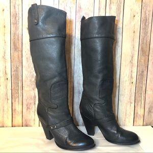 🔥SALE🔥 Sam Edelman black  knee high boots 8.5